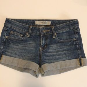 JEAN SHORTS: Charlotte Russe size 2